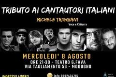 Michele Triggiani a Modugno con l'omaggio ai cantautori italiani