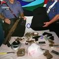 Trovate armi in un casolare, arrestato incensurato