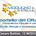 I 5 Stelle inaugurano a Modugno uno Sportello del cittadino.