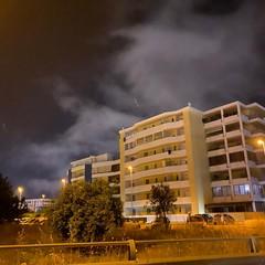 Le nubi viste sabato notte
