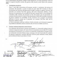 Laccordo firmato
