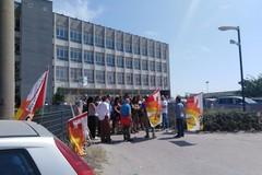 Olisistem di Modugno, lavoratori in sciopero