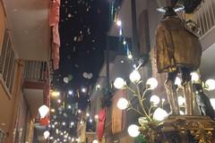 La processione del venerdì per il Santo Patrono