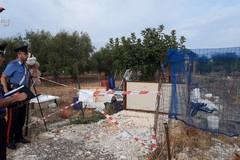 Carabinieri di Modugno sequestrano discarica abusiva: una denuncia