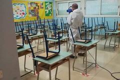 Rientro in classe a Modugno, sanificate tutte le scuole