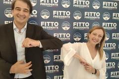 Regionali in Puglia, Meloni lancia la campagna di Raffaele Fitto