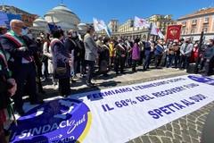 Il sindaco di Modugno a Napoli con altri 500 colleghi per Recovery Sud