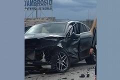 Incidente, 6 feriti sulla 231