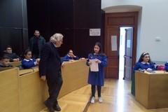 Il sindaco Magrone e l'assessore Sciannimanico incontrano gli studenti