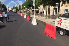 Festa patronale, la novità dei blocchi di new yersey per sicurezza e controllo