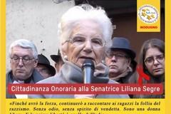"""""""Modugno dia la cittadinanza onoraria a Liliana Segre"""". La proposta degli attivisti pentastellati"""
