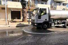 Spazzamento meccanico e lavaggio strade, via al servizio a Modugno