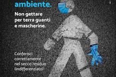 Modugno, una campagna contro l'abbandono di guanti e mascherine per strada