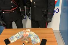 Spaccio di droga in centro a Modugno, arrestato 44enne