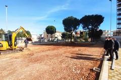 """Scuola """"Faenza"""" di Modugno, proseguono i lavori: sopralluogo del sindaco"""