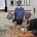 Modugno, nasconde 800 grammi di marijuana: arrestato 25enne