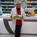 Un salvadanaio in farmacia al quartiere Cecilia
