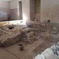 Palazzo Santa Croce, un nuovo pavimento tra gli scavi archeologici