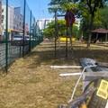 Nuove sedute e punti di aggregazione, partiti i lavori al parco Martiri delle Foibe a Modugno