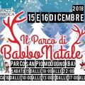 """Ritorna a Modugno il """"Parco di Babbo Natale"""""""