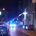 Fiamme in via Paradiso a Modugno: evacuata una palazzina