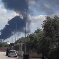 Incendio all'EcoGreen Planet, anche Modugno vieta la vendita dei prodotti ortofrutticoli