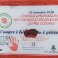 Modugno, vandalizzata la targa contro la violenza sulle donne