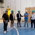 Modugno, proseguono i lavori nel Palazzetto dello Sport: nuovi spogliatoi e una grande area servizi