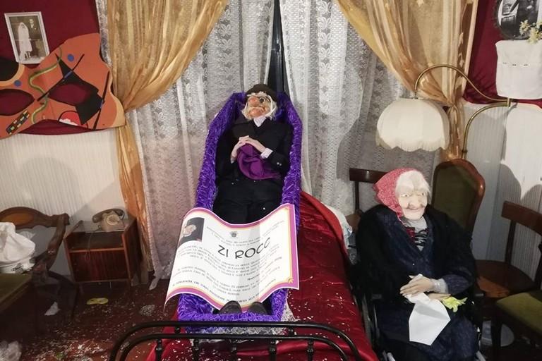 Il funerale di Zi Rocc a Modugno. <span>Foto Facebook Associazione Officina dei Tempi</span>