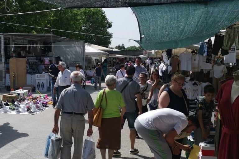 Il mercato a Modugno