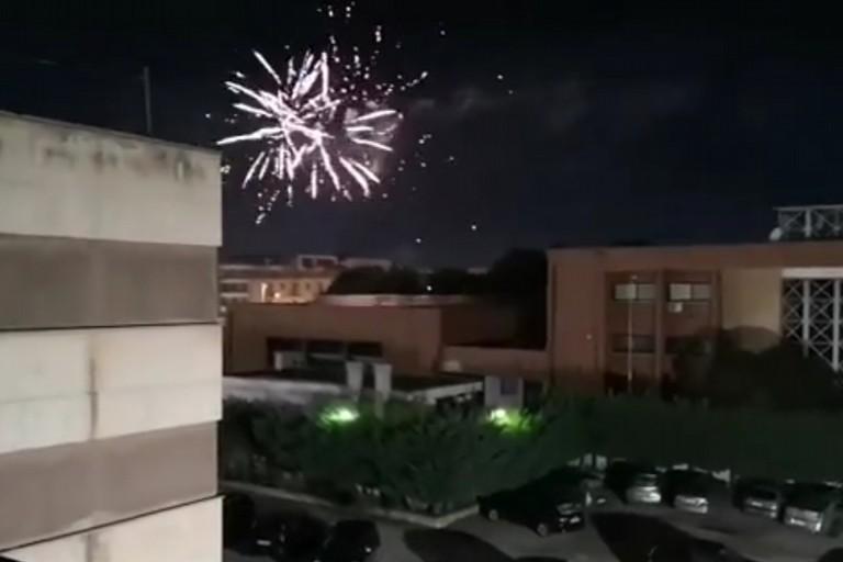 I fuochi d'artificio a Bari