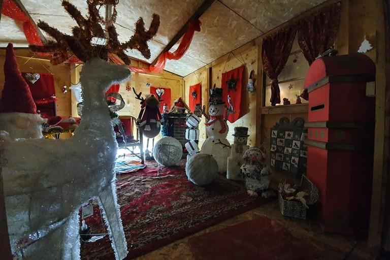 La casa di Babbo Natale a Modugno