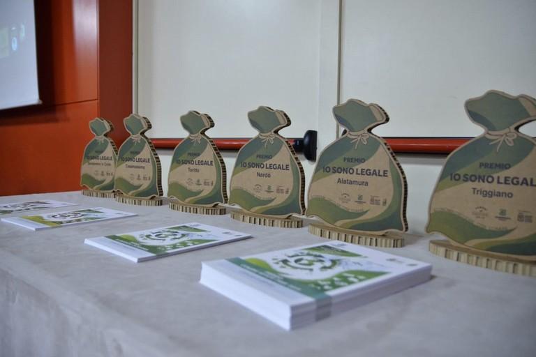 La cerimonia di premiazione