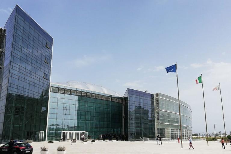 La nuova sede del consiglio regionale