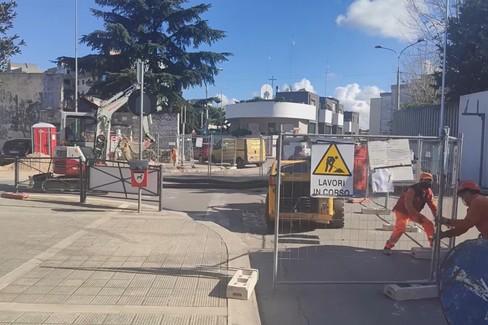 Il punto sui lavori alle strade di Modugno