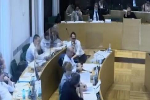 L'intervento di Cramarossa in consiglio comunale