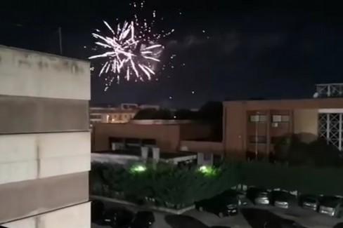 I fuochi d'artificio a Modugno