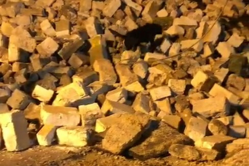 Il crollo della palazzina a Modugno e i primi soccorsi
