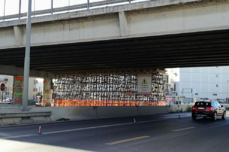 Ponte danneggiato Ss 96