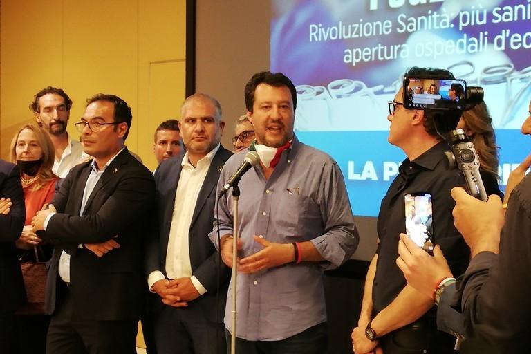 Salvini a Bari